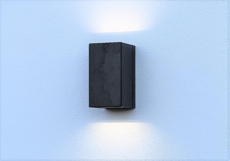 Wetterfeste 6 Watt LED-Lampe für die Wandmontage